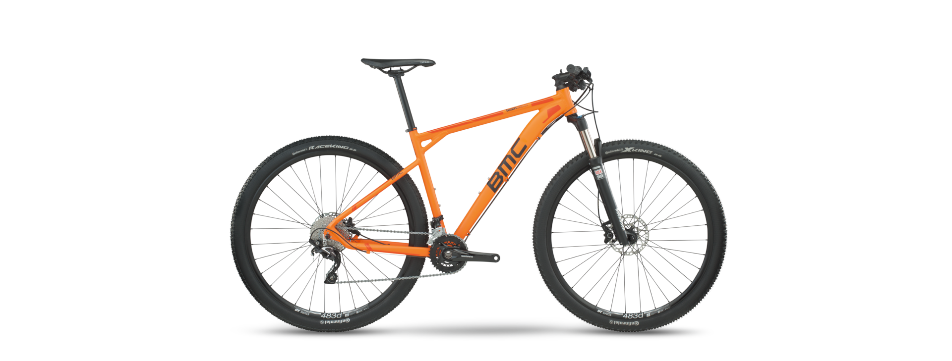 VTT BMC Teamelite TE03 Deore SLX 2017 Orange