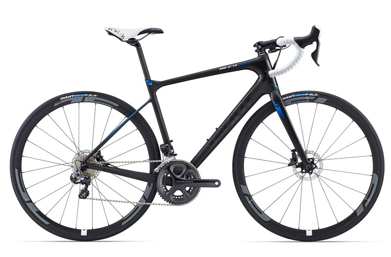 Giant Defy Advanced Pro 1 compact Bleu 2015
