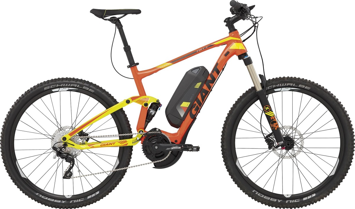 VAE Giant Full E 1 2016 Orange-Jaune