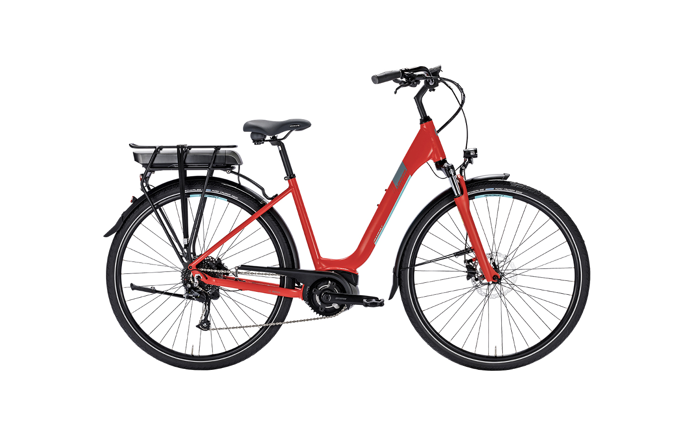 LAPIERRE OVERVOLT URBAN 400 RED 2018