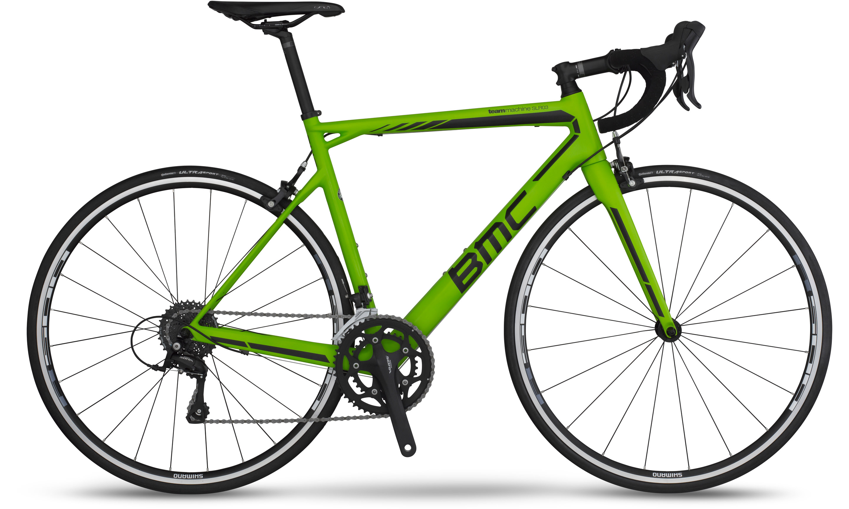BMC Teammachine SLR03 Sora 2016 (Green)