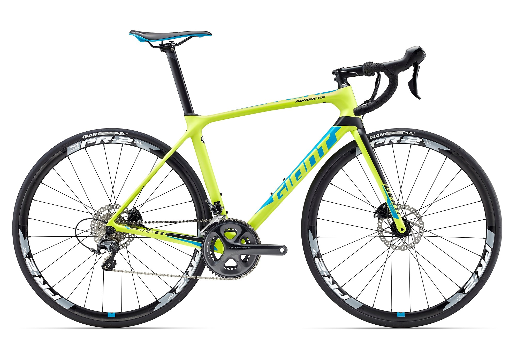 OCCASION Giant TCR Advanced 1 Disc 2017 (Green)