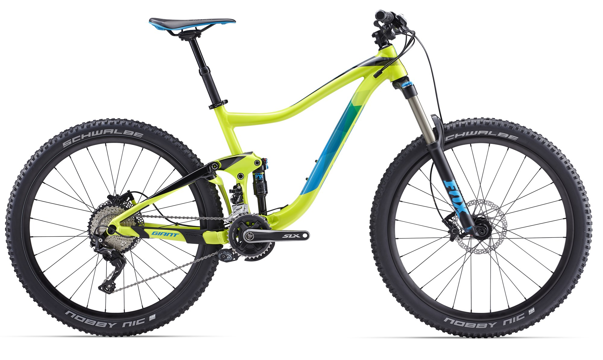 VTT Giant Trance 2 LTD 2017 (Jaune)