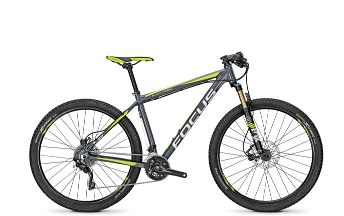 VTT Focus Black Forest LTD 27 Slategrey 2016