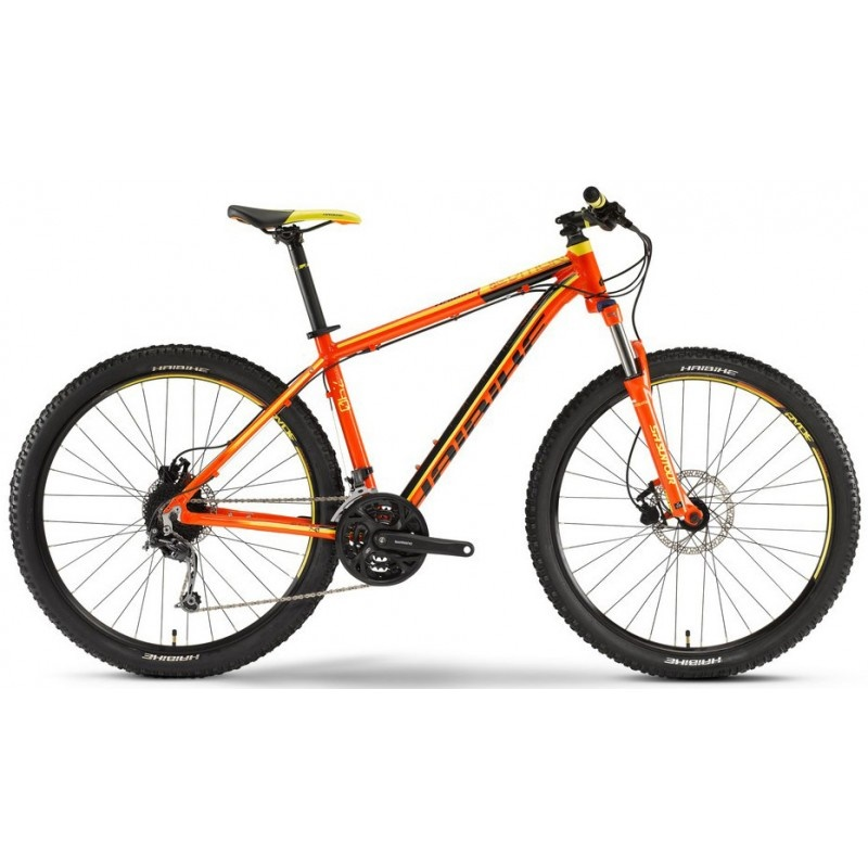 VTT Haibike Edition 7.40 2016 Orange-Noir-Jaune
