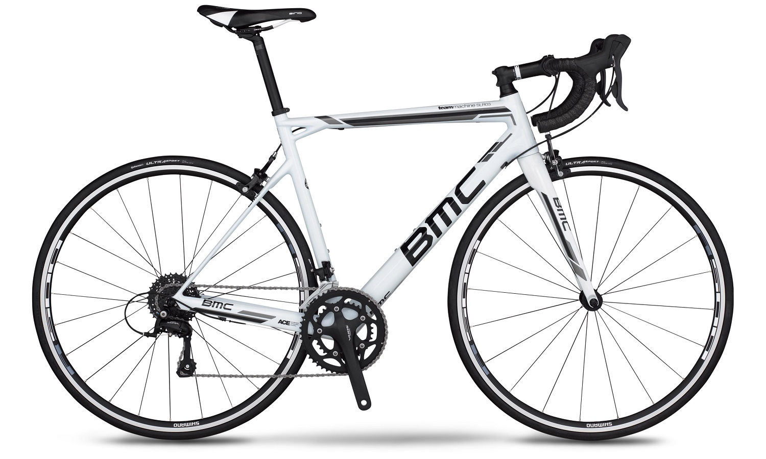 BMC Teammachine SLR03 Sora 2015 (White)