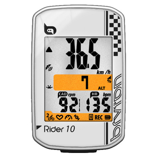 Bryton Rider 10 E Fahrradcomputer wei 5B500x5005D