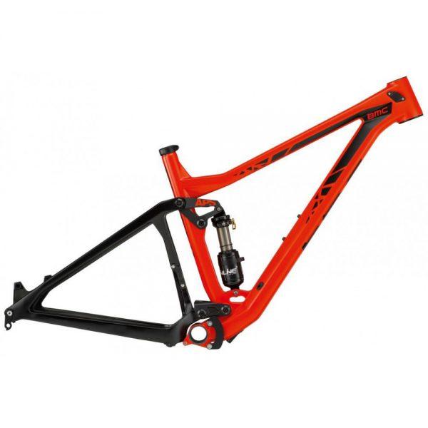 cadre vtt bmc trailfox 01 rouge noir