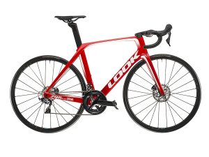 look 795 huez disc red glossy 2019